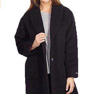 Derek Lam 10 Crosby Women's Wool Coat Black Sz M